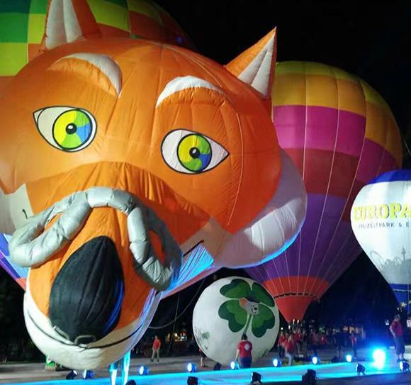 异形热气球出租